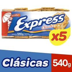 Galletitas Cracker Express x 5 un. 540 g.