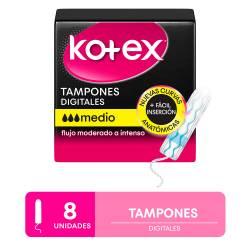 Tampones Medio Evolution Kotex x 8 un.