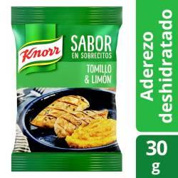 Saborizante Tomillo Limón Knorr x 4 un.