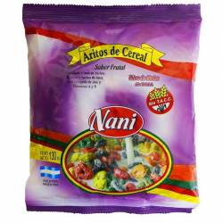 Cereal de Frutas Aritos Bolsa Nani x 130 g.