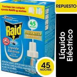 Insecticida Líquido Repuesto Eléctrico Raid x 32 cc.
