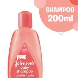 Shampoo Rulos Definidos Johnsons Baby x 200 cc.