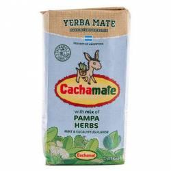 Yerba Mate Comp. Hierbas Pampeanas Cachamate x 500 g.