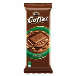 Chocolate c/Leche y Almendras Cofler x 100 g.