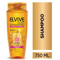 Shampoo Oleo Nutrición Elvive x 750 cc.