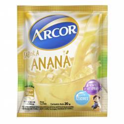 Jugo en polvo Ananá Arcor x 20 g.