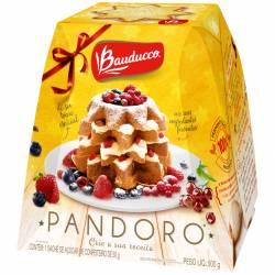 Pan Dulce s/Frutas Pandoro Estuche Bauducco x 500 g.