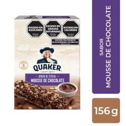 Quaker Barras Mousse de Choco 156Gr Quaker x 156 g.