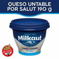 Queso Untable Por Salut Milkaut x 190 g.