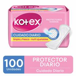Protector Diario Multiforma Kotex x 100 un.