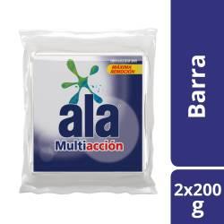 Jabón en Pan Blanco Ala x 2 un. 400g