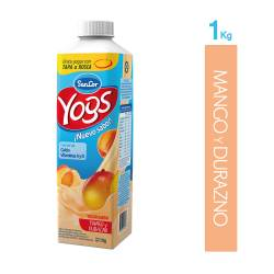 Yogur Bebible Mango y Durazno Sancor Yogs x 1 Kg.