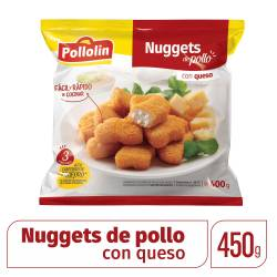 Bocaditos de Pollo c/Queso Pollolin x 400 g.