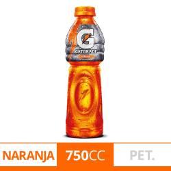 Bebida Naranja Pet Gatorade x 750 cc.