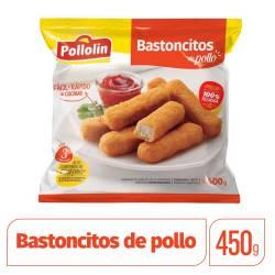 Bastoncitos de Pollo Pollolin x 400 g.