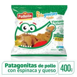 Bocaditos de Pollo c/Espinaca y Queso Patagonitas x 400 g.