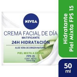 Crema Facial de Día Matizante Nivea Face x 50 cc.