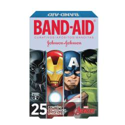 Apósitos Liga de La Justicia Band-Aid x 25 un.