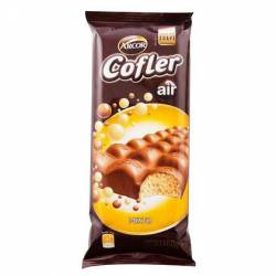 Chocolate con Leche relleno c/chocolate Blanco Cofler x 100 g.