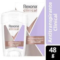 Antitranspirante Crema Extra Dry Rexona x 48 g.