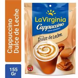 Café Instantáneo Cappuccino Dulce de Leche Dp La Virginia x 155 g.