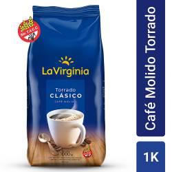 Café Molido Clásico La Virginia x 1 Kg.