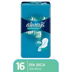 Toallas Higiénicas Maxi Prot Seca Always x 16 un.
