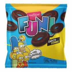 Galletitas Choco Donas Fun Fantoche x 120 g.