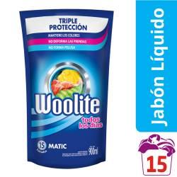 Detergente Líquido Todos Los Días Dp Woolite x 900 cc.