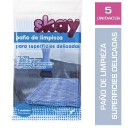 Paño de Limpieza Superficies Delicadas Skyy x 5 un.
