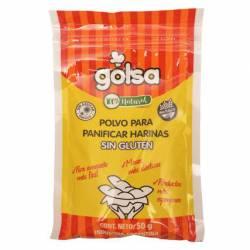 Polvo Panificar Harinas sin Gluten Golsa x 50 g.