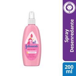 Spray para Peinar Gotas de Brillos Johnsons Baby x 200 cc.