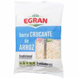 Barritas Croc de Arroz Inflado Egran x 3 un.