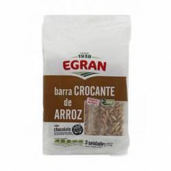 Barritas de Arroz Maní/Miel Egran x 3 un.