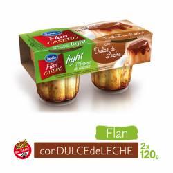 Flan Casero c/Dulce de Leche Light Sancor x 240 g.