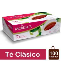 Té en Saquitos La Morenita x 100 un.