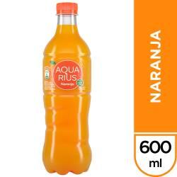 Agua s/Gas Naranja Aquarius x 600 cc.