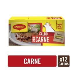 Caldo de Carne Maggi x 12 un.