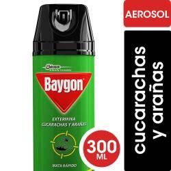 Insecticida Aerosol Cucarachas y Ar Baygon x 300 cc.