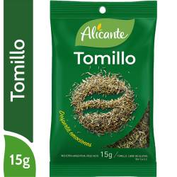 Tomillo en Sobre Alicante x 15 g.