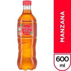 Agua s/Gas Manzana Aquarius x 600 cc.