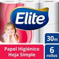 Papel Higiénico c/Aloe Vera 30M Elite x 6 un.