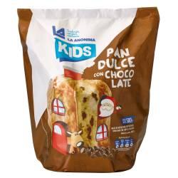 Pan Dulce c/Chip Chocolate Kids La Anónima x 500 g.