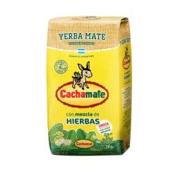 Yerba Mate c/Mezcla de Hierbas Cachamate x 1 Kg.