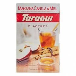 Té Placeres Manzana Canela y Miel Taragui x 20 un.