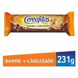 Galletitas Dulces con Avena y Choco Cerealitas x 231 g.