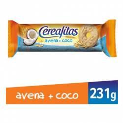 Galletitas Dulces con Avena y Coco Cerealitas x 231 g.