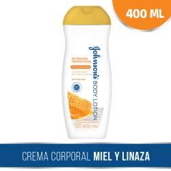 Crema Hidratante Renovadora Johnsons x 400 g.