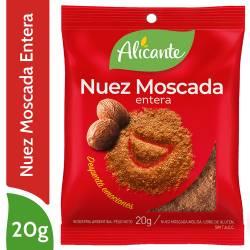 Nuez Moscada Entera Alicante x 20 g.