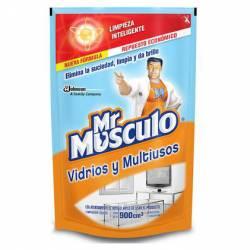 Limpiador Líquido Vidrio y Multiuso Dp Mr. Músculo x 900 cc.